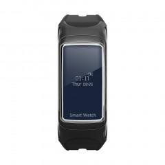 Man Woman Bluetooth Sports Music Heart Rate Monitor Pedometer Smart Watch