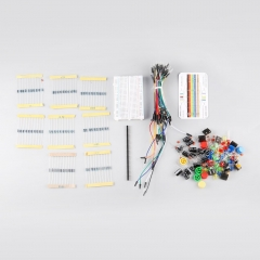 Electronic Starter Kit for Arduino Resistor Buzzer Breadboard LED Dupont Cable