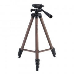 Camera Tripod Bracket Stand Holder With Rocker Arm For DSLR Cameras Camcorders coffe 42*7*7cm