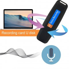 Digital Voice Recorder Rechargeable USB2.0 Memory Stick Support TF Card