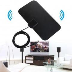 Small Ultra Thin Flat Indoor Antenna Aerial HDTV Digital TV Antanna Aerial
