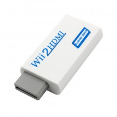 For Wii to HDMI Converter Transformed for Wii To HD-TV/HD-Projector 720p/1080P as picture