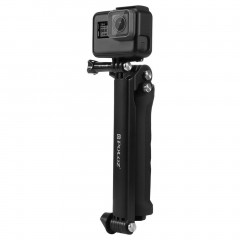 For Gopro Hero Accessories Puluz 3 Way Grip Arm Tripod Mount Selfie Stick