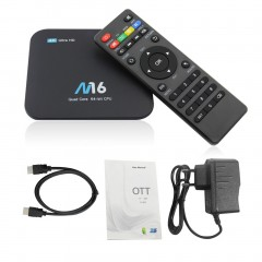 M16 Smart TV BOX Quad-Core Cortex Android 7.1 2GB HDMI WIFI Mini PC TV Box