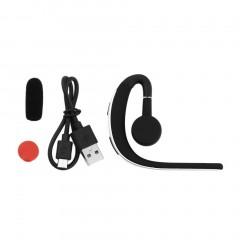 Fashion Wireless Bluetooth 4.0 Stereo Headset Earphone Earpiece Universal Black+Silver