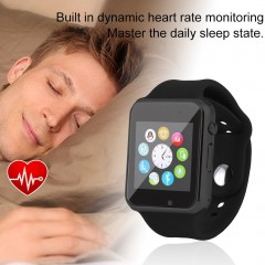Bluetooth Smart Watch For Android Mobile Phone Step Counting Sport Bluetooth black 8*8*5.5cm