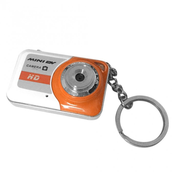 HD Ultra Portable 1280*1024 Mini Camera X6 Video Recorder Digital Small Cam orange 45mm*29mm*15mm