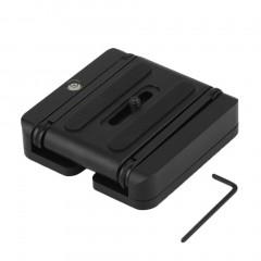 Folding Z Type Stand Holder Professional Tripod Kit Flex Tilt Head Pan Black 33mm*26mm*17mm