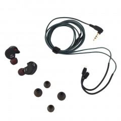 Kz-ZS3 The Most Comfortable Ergonomic HIFI Headphones Two Styles Black black