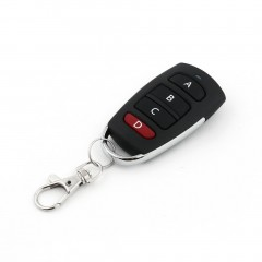 Universal Remote Control Car Key 4 Buttons 433MHz Electric Garage Door Alarm