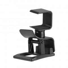 Rotation Design Adjustable Mount Holder Camera Bracket Stand Holder For PS4 black