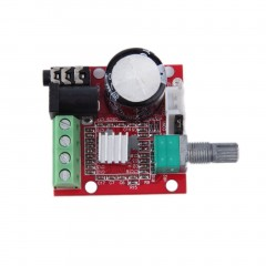 2*10W Dual Channel Hi Fi PAM8610 Mini Amplifier board 12V for Computer audio