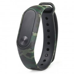 Replacement Watchband For XIAOMI Miband 2 Wristband Strap Colorful Watch Band Green camouflage normal