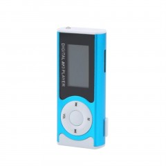 Mini USB Clip MP3 Media Player LCD Screen Support 16GB TF LED Light