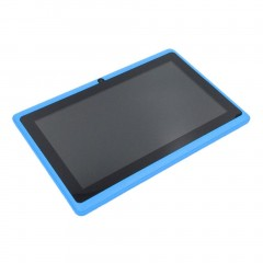 7 Inch TFT Display HD 1080P Quad Core Dual Camera 512M+8G Tablet for Android blue 7 inch