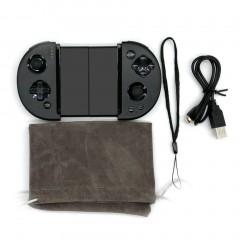 M1 Compact Size Extensible Design Wireless Bluetooth Game Controller Joystick Black