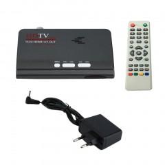Digital Terrestrial HDMI 1080P DVB-T/T2 TV Box VGA AV CVBS Tuner Receiver