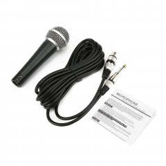 SM-58 Dynamic Microphone Vocal Wired Recording Cardioid Microphones Instrument black SM-58