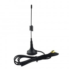 Antenna 433Mhz 3dbi SMA Plug with Magnetic Base 1.5m Cable for Ham Radio