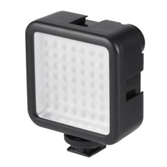 49 LED Video Light Lamp Photographic Photo Lighting for Camera Photography black 7*8*3