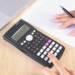 NEW Original Scientific Digital Calculator Plus Electronic Multi-functional Calculator for Students black