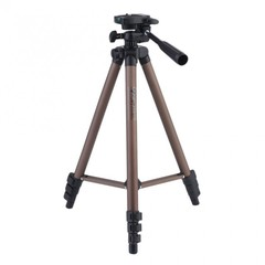 Camera Tripod Bracket Stand Holder With Rocker Arm For DSLR Cameras Camcorders coffee 42*7*7cm