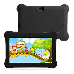 Q88 Tablet 7 Inch 512MB ROM+8GB RAM Tablet for Kid Cartoon Tablet black