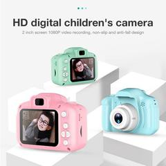 2 Inch HD Screen Chargable Digital Mini Camera Kids Cartoon Camera Toys for Child Gift