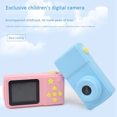Children'S Mini Digital Camera 2 Inch Cartoon Cute Camera Toys Children gift+Free Camera Case