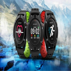 Color screen smart watch GPS positioning, sleep monitoring, smart notification waterproof green normal