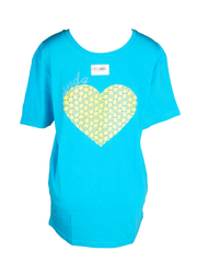 I Love Rwanda T-Shirt Medium Blue