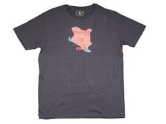Treasurers of Kenya Map Design T-shirt