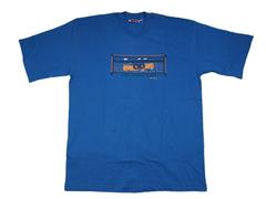 Mara Serena Lodge African Design T-Shirts X-LARGE Blue