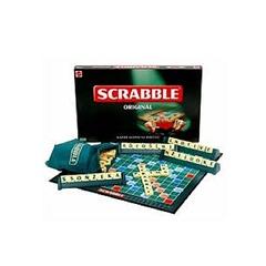 Portable Scrabble Game Multicoloured Multicolour Normal