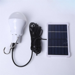 LED Solar Bulb Charging Light Night Market stalls Power failure emergency lights Solar charging light Charging bulb + solar charging board