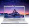 Toposh 14.1 inch laptop thin laptop quad-core cpuN3450 HD portable business office Internet silver 4G+120G SSD