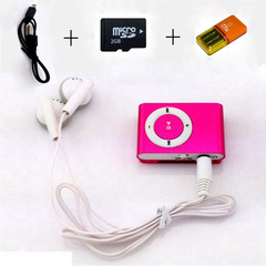 Mini portable MP3 music player Walkman TF card slot USB port
