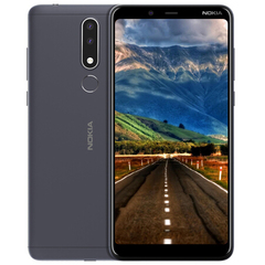 Original Nokia 3.1 Plus 6 inch IPS eight core full Netcom 4G full screen smart phone large battery Navy blue 3G+32G