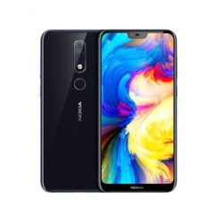 Nokia X6 full screen 5,8 pulgadas 18:9 FHD 6G+64G 16.0MP + 5.0MP HD camera black 4G+64G