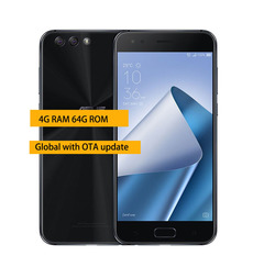 Global version of ASUS Zenfone 4 ZE554KL 4G 64G smartphone 5.5''NFC Android phone black 4g+64g