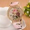 2019 Women Watches Rose Bohemian Wind Diamond Fashion Women's Quartz Watch Pink 24cm