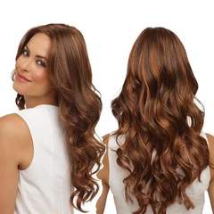 Synthetic Wigs New Fashion Hair Wigs Women Wigs Long Hair Body wave 28inch brown 28inch
