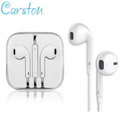 Earphones In-Ear Headphone Earphones Earpods with Volume Control For Mobile Android and Iphone white