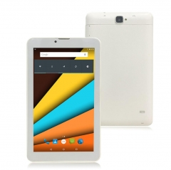 Android Tablet 7 Inch with Sim Card Slots 1GB RAM 8GB ROM 3G Phone Tablet PC with WiFi Bluetooth GPS white