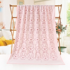 Superfine Fiber 70*140 Grinding Dijin Suction Printing Bath Towel Big Towel Pink 70CM*140CM
