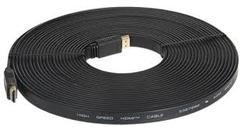 HDMI FLAT CABLES 20 METRES black 20m