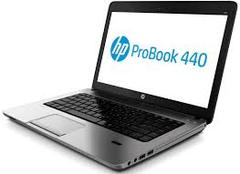 HP Probook 440 core i5 ex-uk laptop 4GB RAM 500GB HDD black 14