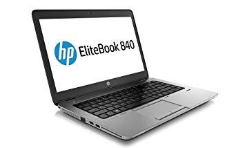 "HP EliteBook 840 G1- Intel Core i5 -14"" - 500HDD - 4GB RAM black 14"