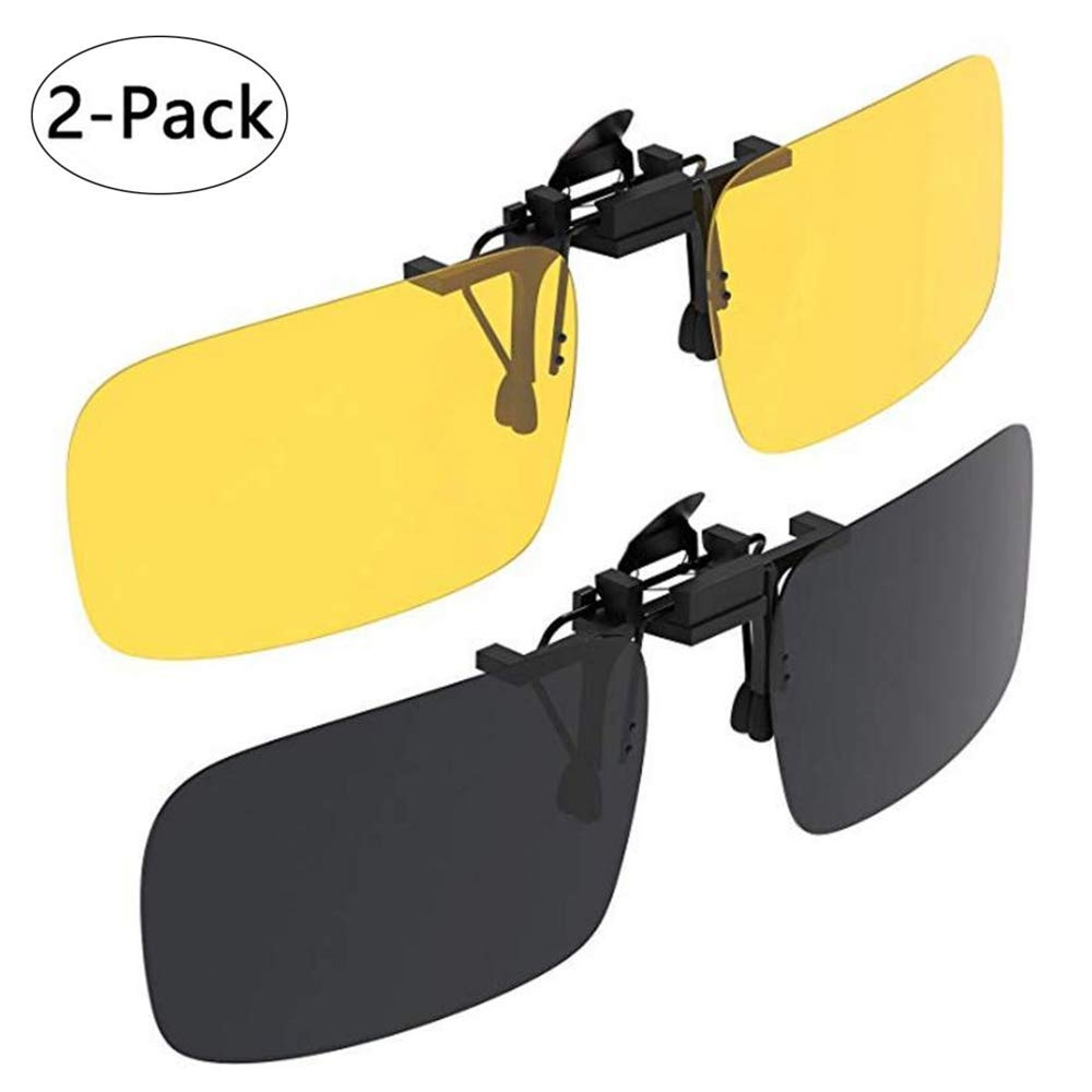 64470edbbcf7 ➷CLIPS THAT CAN BE FLIPPED – you can easily switch between nearsighted  glasses