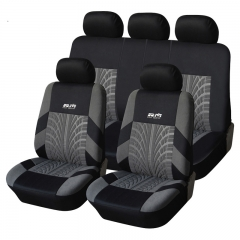 T21165 Universal 9 pcs Car Seat Cover Set Anti-Dust Auto Cushion Special craft cloth art e grey grey 9pc